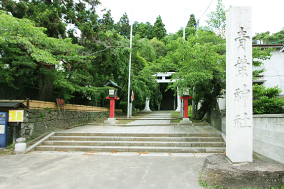 Tennis court aobamachi